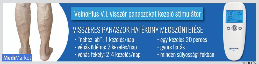 Veinoplus V.I. visszérkezelő készülék