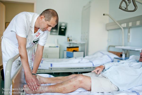 visszér ápoló kezelés