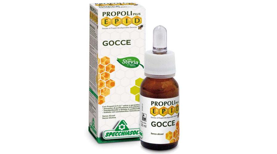 Propolisz tinktúra, cseppek 50 ml, C-vitaminnal - természetes fertőtlenítő - Dydex