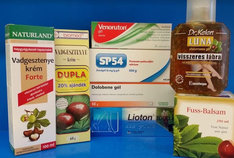 Visszér elleni készítmények - Egészségpláza webáruház