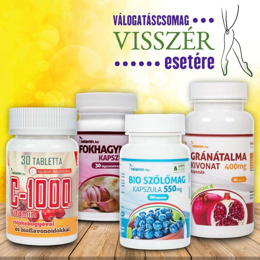 5 gyógynövény visszér kezelésére