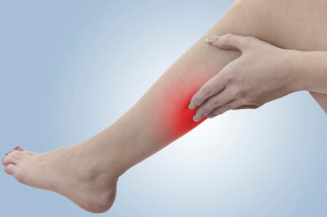 fájdalom a lábon, amikor visszeres ereket jár
