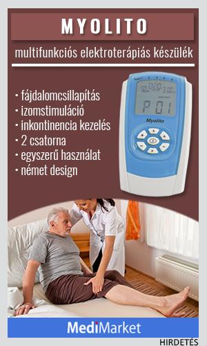 Veinoplus vénás panaszokat kezelő I.V. elektrostimulátor