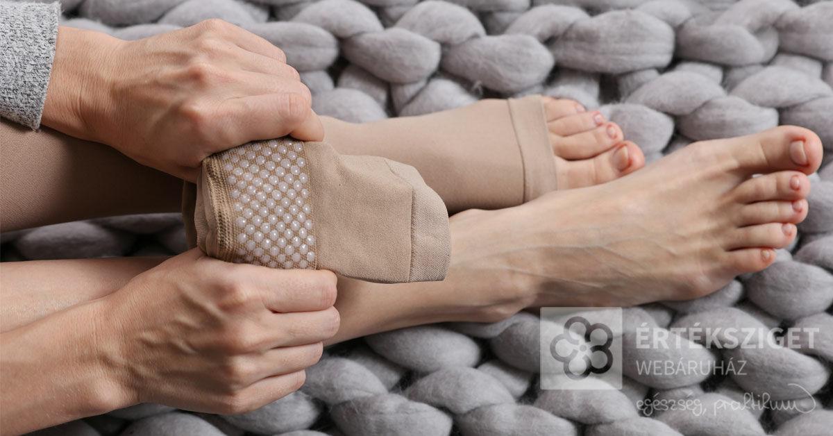 vásároljon kompressziós zoknit férfiaknak a varikózisban